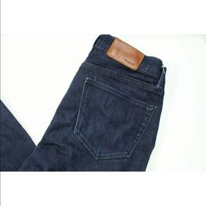 Madewell Skinny Skinny Ankle dark blue jeans 25